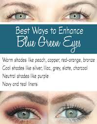 best ways to make blue green eyes pop