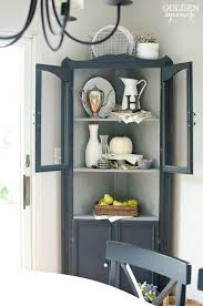 Dining Room Cupboards Top 25 Best Corner Hutch Ideas On Pinterest Dining Room Corner