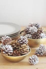 Non Christmas Winter Decorations - diy scented pinecones perfect for your fall and winter decor