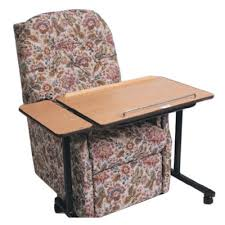 table for recliner chair daleside over chair table over chair table daleside