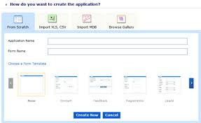 zoho creator a simple online database builder