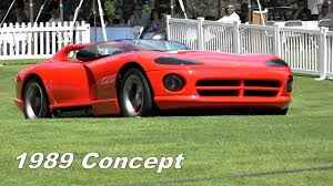Dodge Viper Generations - 1989 dodge viper concept driven by ralph gilles see engine youtube