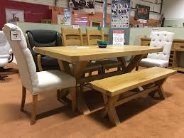 4 Dining Chairs Corndell Fairford Large Table 4 Dining Chairs With Matching