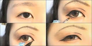tutorial make up mata sipit ala korea tutorial make up mata anime untuk si mata sipit vemale com