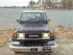 toyota land cruiser black toyota 1988 landcruiser 74 black