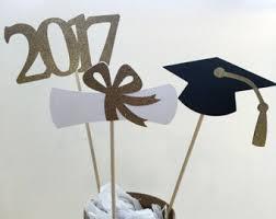 graduation cap centerpieces 3 graduation centerpiece sticks 2017 grad cap diploma class of