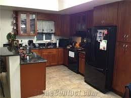 light cherry kitchen cabinets and granite black galaxy granite kitchen countertops light cherry