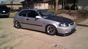 honda civic hatchback modified 2000 honda civic ek hatchback ls turbo b16 youtube