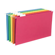 Letter Legal File Box by Smead Hanging File Folders 1 5 Tab Legal Assorted Colors 25ct