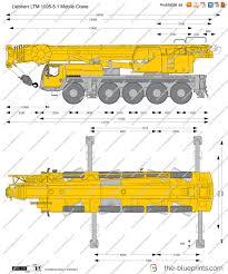 the blueprints com vector drawing liebherr ltm 1095 5 1 mobile