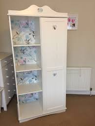 shabby chic wardrobe u0026 shelves unicorn u0026 heart design in york