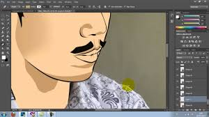 tutorial cara vector photoshop tutorial simple vector photoshop cc youtube