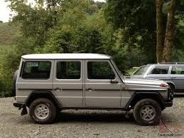 mercedes g wagon w460 280 ge original factory spec