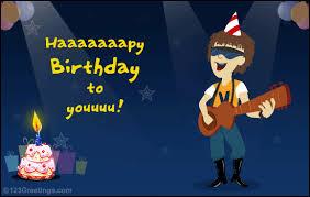 birthday rock free songs ecards greeting cards 123 greetings