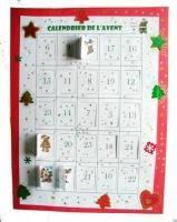Calendrier De L Avent Fabriquer Un Calendrier De Calendrier De L Avent à Imprimer Noel Tete A Modeler
