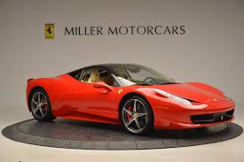 Ferrari 458 Coupe - 2011 ferrari 458 italia stock 4379 for sale near greenwich ct