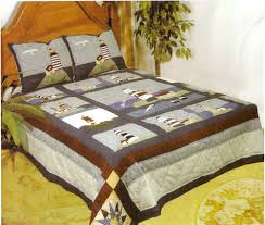 american hometex 4807 q light house quilt size 90 inch x 90