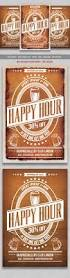 24 best work images on pinterest flyers flyer design and event happy hour flyer
