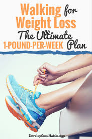 weight loss planner template walking for weight loss the ultimate guide to walking off those you can lose weight from just walking in fact it s actually relatively simple to