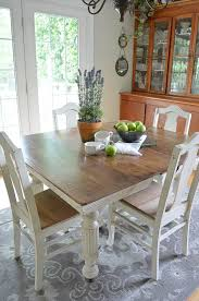 painting a dining room table inspiring cream painted dining table and chairs 23 for dining room