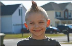 6 year old boy haircuts the missy project wyatt garab named children hospital s child of