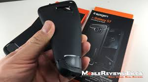 Galaxy Rugged Spigen Rugged Armor Review Galaxy S7 And S7 Edge Cases Mobile
