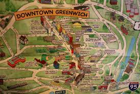 Greenwich England Map by Longtime Residents Publish Illustrated Map Highlighting Local