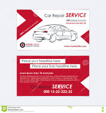 Car Service Business Card Auto Repair Business Card Template Create Your Own Business Cards