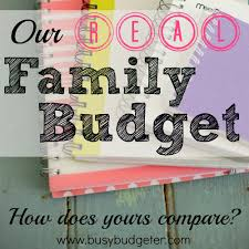how to create a realistic household budget money matters a sle budget to help you create your own budget the busy budgeter