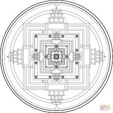 splendid ideas tibetan mandala coloring pages buddhist cecilymae