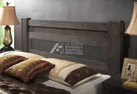 weaver rubber wood bed sydney central furniture