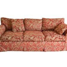 Red Floral Sofa by Online Furniture Auctions Vintage Furniture Auction Antique