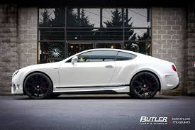 bentley vorsteiner bentley continental gt with 22in vossen cv4 wheels exclusively