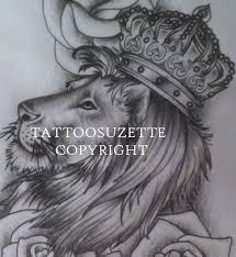 with crown design by tattoosuzette on deviantart