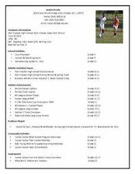 athletic resume template athletic resume template free resume format templates g5k6v5ap