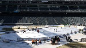 stadium series ice builders will work nights at coors field
