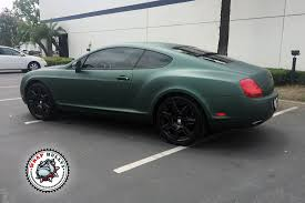 bentley green matte green bentley car wrap wrap bullys