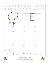 8 best images of printable tracing letter e letter e tracing