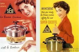 publicité cuisine autocuiseur seb 60 ans de publicité