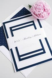 wedding invitations navy sophisticated navy wedding invites sophisticated