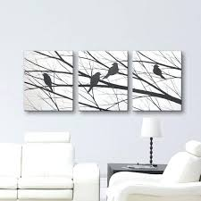 original home decor original wall art sale bird silhouette wall art canvas art original