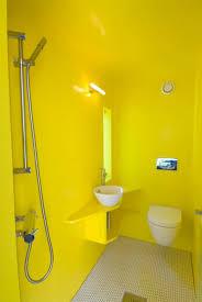 Contemporary Bathroom Design Ideas Captivating Contemporary Bathroom Applying Yellow Bathroom Decor