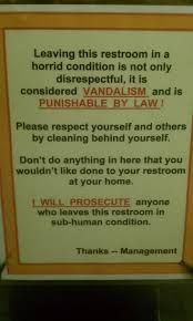 Difference Between Bathroom And Restroom 35 Hysterical Public Restroom Signs Funny Gallery Ebaum U0027s World
