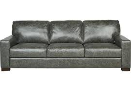 Gray Leather Sofa And Loveseat Gray Leather Sofa Pterodactyl Me