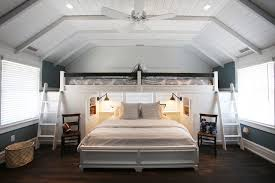 Bunk Bed Fan Sparkling Loft With Built In Bunk Beds White Ceiling Fan