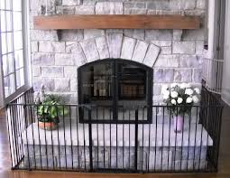 Interior Gates Home Best Fireplace Gate Home Decor Color Trends Creative At Fireplace