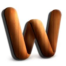 wooden word icon free icons