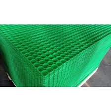 china heavy duty rubber floor mat with drainage holes for