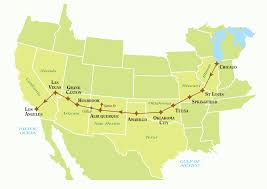 Amtrak Route Map Usa by Tailor Made Route 66 Self Drive Tours Just America