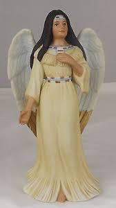 Home Interior Angel Figurines 1999 Native American Blessings Home Interiors Indian Angel